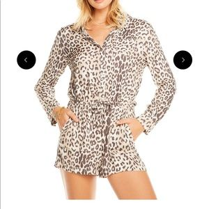 Chaser Leopard Romper